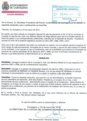 Y LA ALCALDESA SE ATREVE HABLAR DE DISCULPAS PUBLICAS