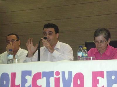 EL CANDIDATO DE SPCT PARTICIPA EN EL DEBATE ELECTORAL ORGANIZADO POR EL COLECTIVO CARMEN CONDE