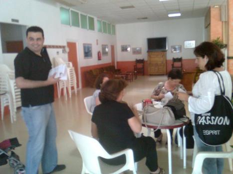 LOS CANDIDATOS DE SPCT HACEN CAMPAÑA EN LAS CALLES DE CANTERAS Y LA VAGUADA
