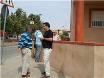 LOS CANDIDATOS DE SPCT RECORREN LA BDA HISPANOAMERICA
