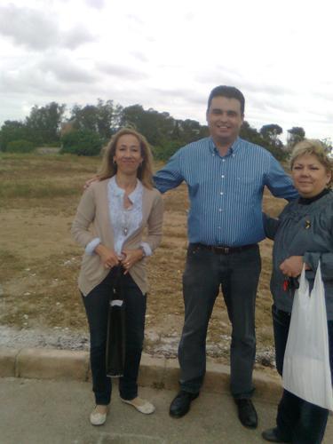 LOS CANDIDATOS DE SPCT HACEN CAMPAÑA EN SAN FELIX